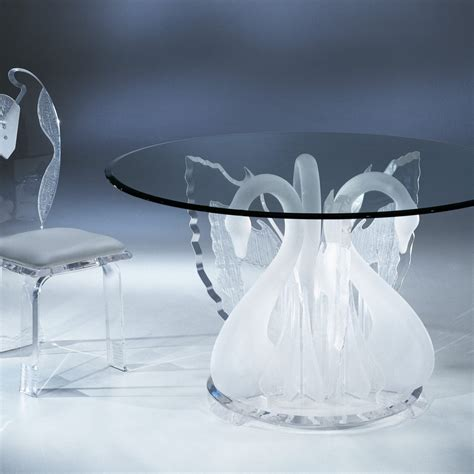 how to clean glass dining table acrylic clear legend swan dining table with glass top