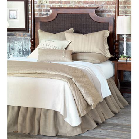 Burlap Bedding Sets Bedding Sets Hickory Park Furniture Galleries