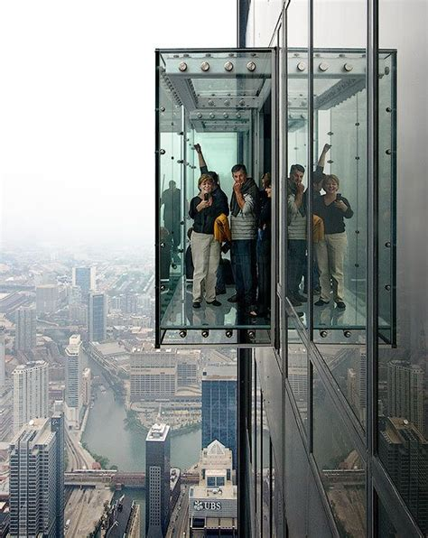 willis tower deck observation deck skydeck ledge at the willis sears
