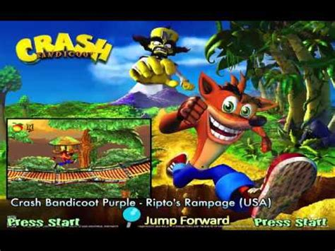 ps4 themes crash hyperspin crash bandicoot games 97 complete youtube