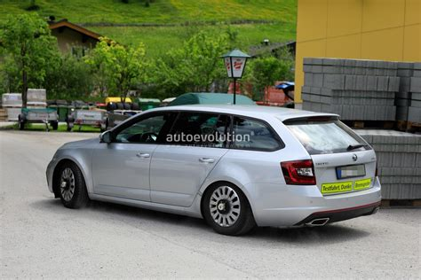 2020 Skoda Octavias by 2020 Skoda Octavia Chassis Testing Mule Spied For