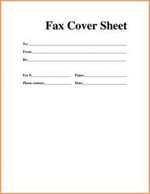 Fax Cover Sheet Pdf Emailformatsample Com