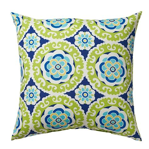 Home Decorators Outdoor Pillows by Home Decorators Collection 18 In Halina Wasabi Square