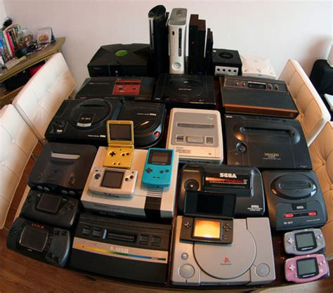 console videogame consoles past present and future timeline