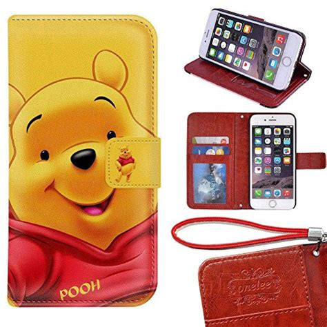 Pu Leather Syntetic Flip Book Cover Casing Samsung A5 2017 A520 iphone 6 wallet onelee disney winnie the pooh