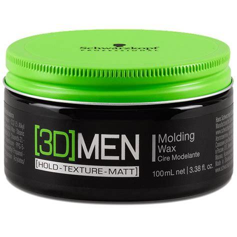 mattes haarwachs schwarzkopf professional 3d molding wax haarwachs
