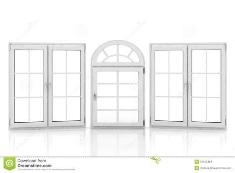 imagenes libres de ventanas ventanas pl 225 sticas cerradas en blanco stock de ilustraci 243 n