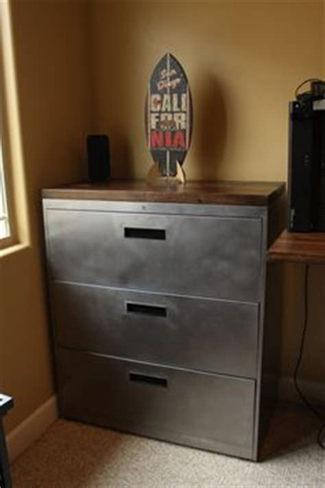 scrap metal filing cabinet diy reclaimed wood file cabinet from quot creating the