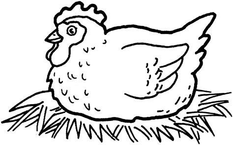 chicken coloring pages preschool hen hatching chicken eggs coloring super preschool