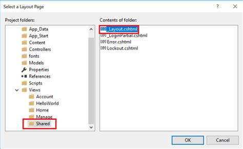 add layout to view in mvc adding a view to an mvc app microsoft docs