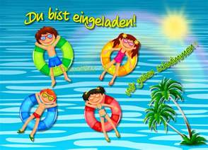 geburtstagseinladung schwimmbad einladung kindergeburtstag schwimmbad 187 einladungen