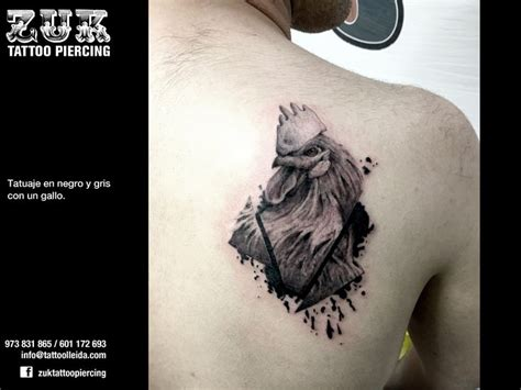 gallo negro tattoo 1000 images about zuk piercing lleida on