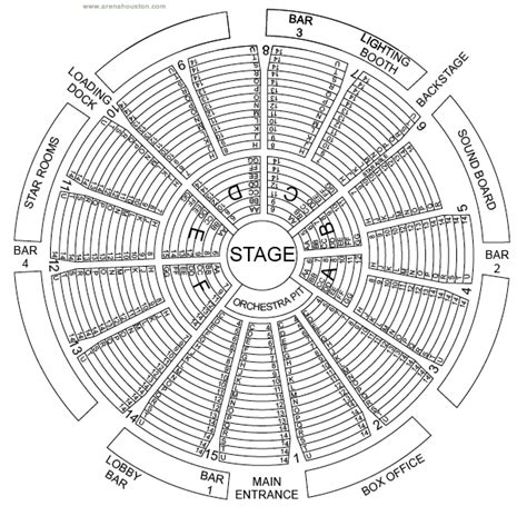 the arena theater houston tx seating chart arena theatre fresharts org