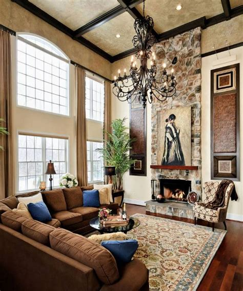 lighting for living room with high ceiling gallery and
