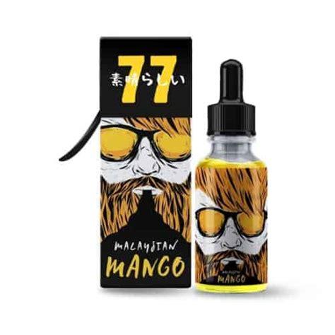 E Liquid Cloud Mango Calamansi 50ml Nic 3mg ossem juice malaysian mango next day vapes