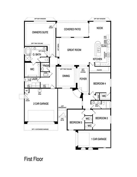 pulte homes cottonwood floor plan via www nmhometeam