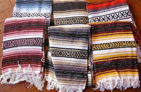 cheap mexican rugs 10 mexican blankets falsa 72x52 assorted colors