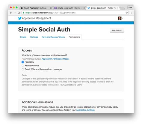 django tutorial permissions how to add social login to django