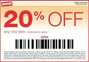 Will Staples Take Office Depot Coupons Staples Coupon 20