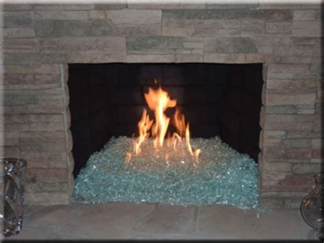Glass Fireplace Rocks by Fireplace Glass Rocks Goenoeng