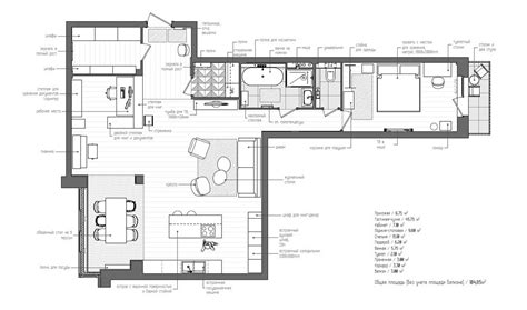 L Shaped Apartment Floor Plans | l shaped apartment plan interior design ideas