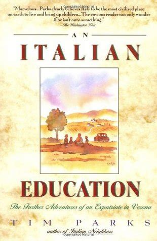 italian picture books an italian education by tim parks reviews discussion