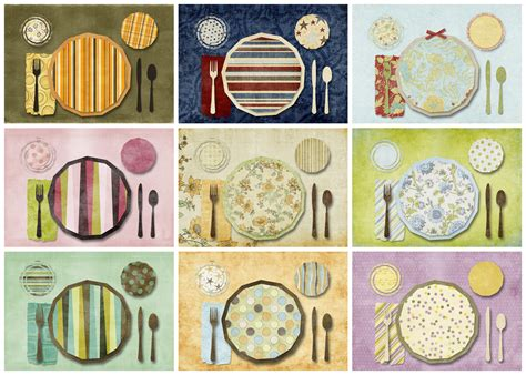 printable placemat printable placemats