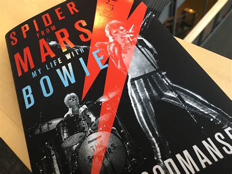 spider from mars my with bowie books rock and roll book club woody woodmansey s spider from