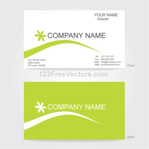 Business Card Blank Adobe Illustrator Template by Business Card Template Illustrator Card Templates