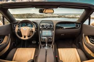 Bentley Inside View 2016 Bentley Continental Gt Speed Look Review