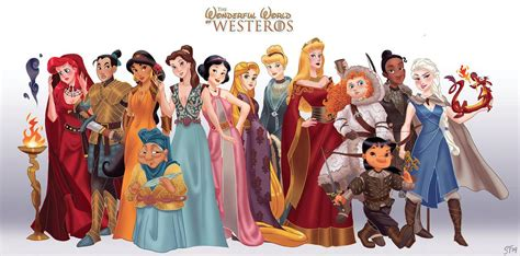 of thrones characters if disney characters were of thrones characters