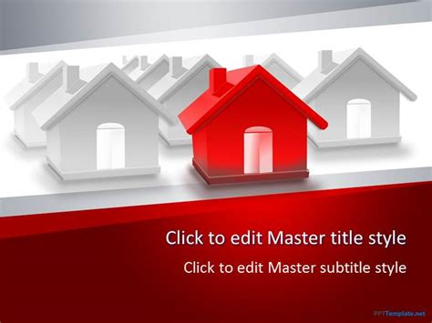 Free Real Estate Sale Ppt Template Powerpoint Real Estate Templates