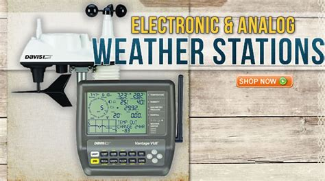 weather stations at weathershack weather instruments