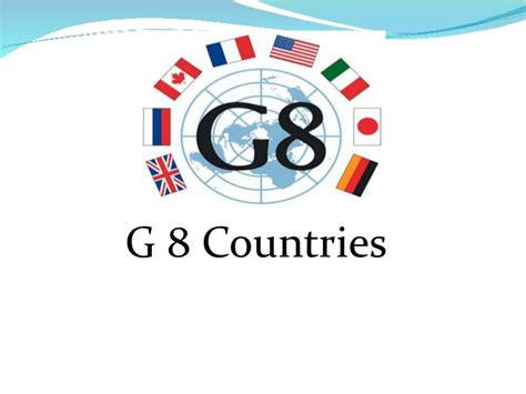 G 8 Nations Essay by G 8 Countries
