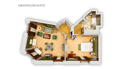 Inlaw Suites by Suites Floor Plan The Westin Excelsior Rome