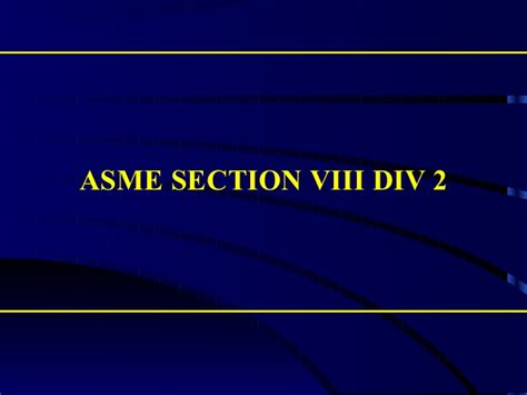 asme bpvc section v asme sec viii div 2