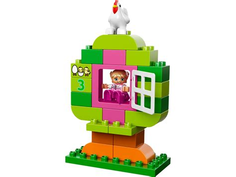 Lego 10571 Duplo All In One Pink Box Of lego 174 duplo 174 all in one pink box of 10571 duplo 174 brick browse shop lego 174