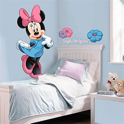 Wallpaper Sticker 478 wall decor gt disney 174 mickey and friends minnie mouse