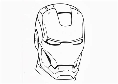 Iron Man Face Coloring Pages Free Coloring Pages And Iron Coloring Page