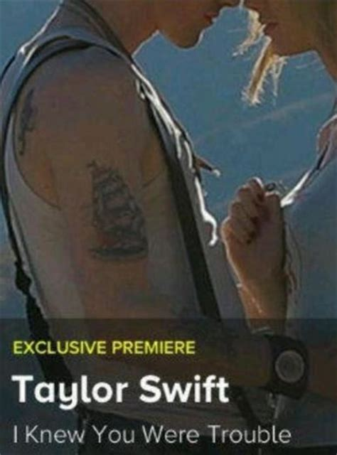 taylor swift i knew you were trouble music video mtv harry styles new tattoo same as taylor swift quot i knew you