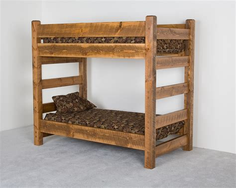 bunk bed with couch furniture gt bedroom furniture gt bunk bed gt log cabin bunk beds