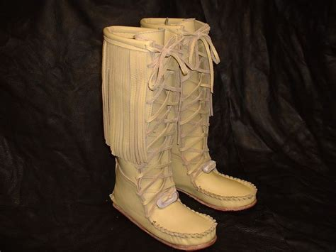 indian moccasin boots  men xjpg leather