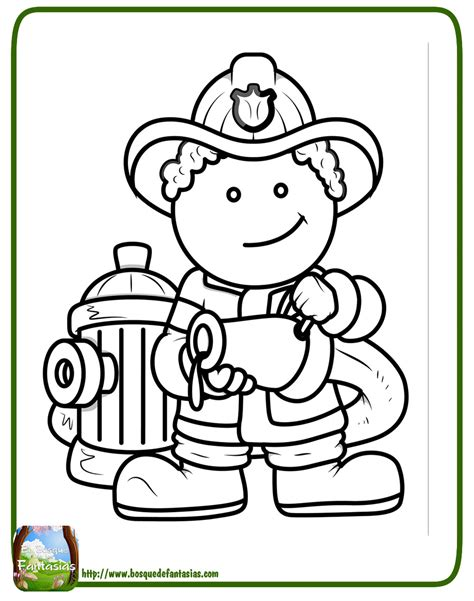 imagenes para colorear bombero 99 dibujos de bomberos 174 im 225 genes infantiles para colorear