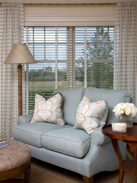 Living Room Blinds Ideas Living Room Window Treatments Ideas To Decorate A Living Room