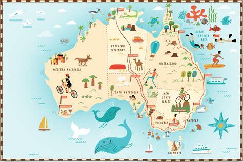 explore australia map australia map travel