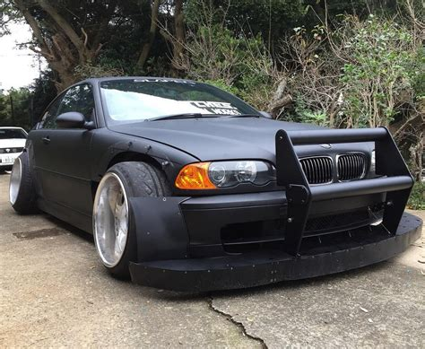 bmw e46 bmw m3 e46 follows strange japanese tuning trend