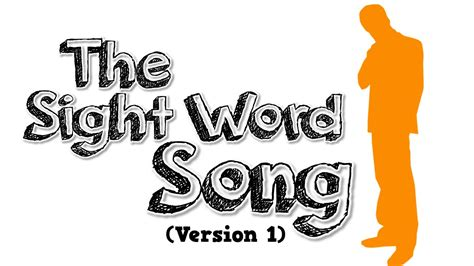 songs with the word the sight word song version 1