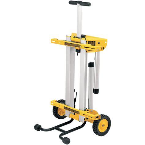 dewalt table saw legs dewalt de7400 heavy duty leg stand rolling saw workstation