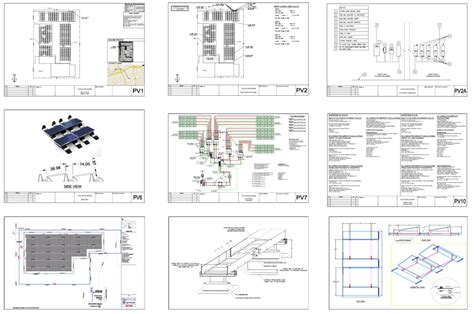 Home Blueprints Free by Solar Pv Layout Design Drafting Solar Residential