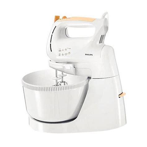 Daftar Mixer Philips Hr1538 jual philips hr1538 putih oranye stand mixer